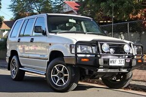 1998 Holden Jackaroo L8 SE White 4 Speed Automatic Wagon Glenelg Holdfast Bay Preview
