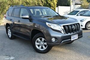 2016 Toyota Landcruiser Prado GDJ150R GXL Graphite 6 Speed Sports Automatic Wagon Claremont Nedlands Area Preview
