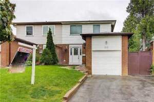 4+1 Bedrooms Semi House With Finished Basement Apartment
