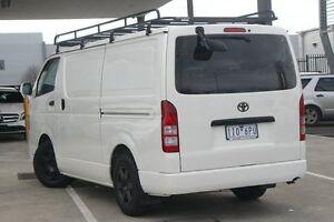 2011 Toyota Hiace TRH201R MY11 LWB White 5 Speed Manual Van