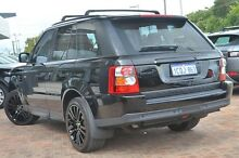2007 Land Rover Range Rover Sport L320 08MY V8 Black 6 Speed Sports Automatic Wagon Osborne Park Stirling Area Preview