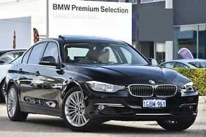 2014 BMW 328I F30 MY1114 Luxury Line Black 8 Speed Sports Automatic Sedan Victoria Park Victoria Park Area Preview