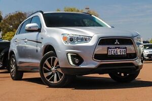 2014 Mitsubishi ASX XB MY15 LS 2WD Silver 6 Speed Constant Variable Wagon Cannington Canning Area Preview