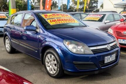 2006 Holden Astra AH MY06 CD Blue 5 Speed Manual Hatchback Ringwood East Maroondah Area Preview