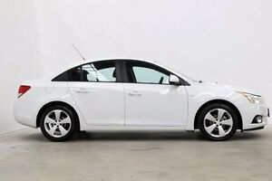 2013 Holden Cruze JH Series II MY13 Equipe White 6 Speed Sports Automatic Sedan Seven Hills Blacktown Area Preview
