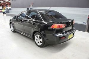 2007 Mitsubishi Lancer CJ MY08 VR Black 5 Speed Manual Sedan Maryville Newcastle Area Preview