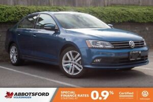 2016 Volkswagen Jetta Sedan Highline ONE OWNER, NO ACCIDENTS, LO