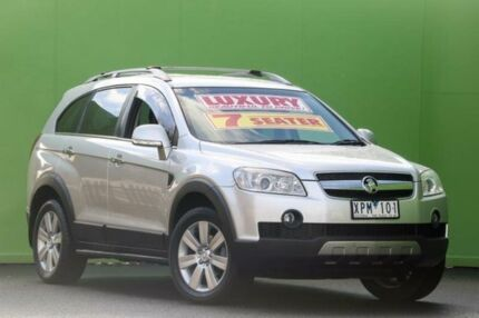 2009 Holden Captiva CG MY10 LX AWD Silver 5 Speed Sports Automatic Wagon Ringwood East Maroondah Area Preview