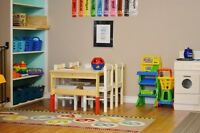 RECE offering Part-Time T,Th,F spot, Age 2+, starting September
