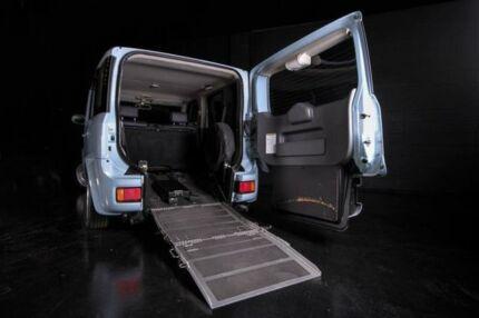 2006 Nissan Cube BZ11 Blue 4 Speed Automatic Wagon