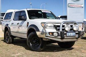 2010 Ford Ranger PK XL Crew Cab White 5 Speed Automatic Utility Bibra Lake Cockburn Area Preview