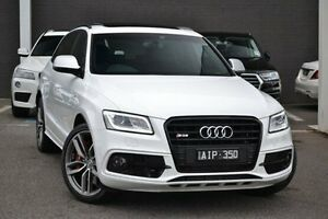 2016 Audi SQ5 8R MY16 TDI Tiptronic Quattro White 8 Speed Sports Automatic Wagon Burwood Whitehorse Area Preview