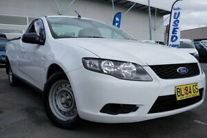 2010 Ford Falcon FG Ute Super Cab White 4 Speed Sports Automatic Utility Pearce Woden Valley Preview
