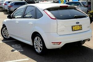 2010 Ford Focus LV Zetec White 5 Speed Manual Hatchback North Gosford Gosford Area Preview
