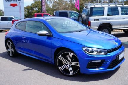 2015 Volkswagen Scirocco 1S MY16 R Coupe Rising Blue 6 Speed Manual Hatchback Phillip Woden Valley Preview