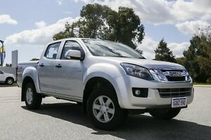 2015 Isuzu D-MAX MY15 LS-M Crew Cab Titanium Silver 5 Speed Sports Automatic Utility Hillman Rockingham Area Preview
