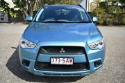 2011 Mitsubishi ASX XA MY11 2WD Blue 6 Speed Constant Variable Wagon Woodridge Logan Area Preview