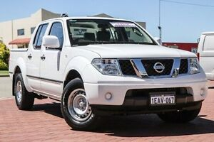 2012 Nissan Navara D40 S7 MY12 RX 4x2 White 5 Speed Automatic Utility Spearwood Cockburn Area Preview