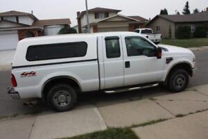 2008 Ford F-250 SD Ex Cab Short Box Diesel with Canopy