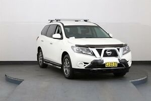 2015 Nissan Pathfinder R52 ST (4x4) White Continuous Variable Wagon Smithfield Parramatta Area Preview