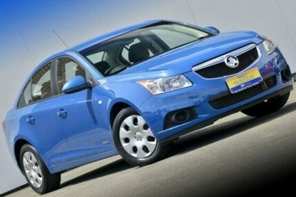 2013 Holden Cruze JH Series II MY13 CD Perfect Blue 6 Speed Auto Seq Sportshift Sedan Ferntree Gully Knox Area Preview