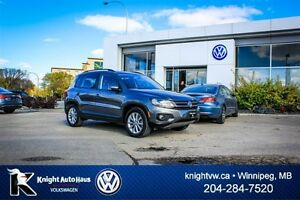 2012 Volkswagen Tiguan Comfortline AWD w/ Panoramic Sunroof/Leat