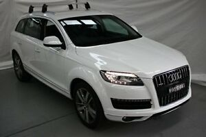 2010 Audi Q7 MY11 TDI Tiptronic Quattro White 8 Speed Sports Automatic Wagon Maryville Newcastle Area Preview