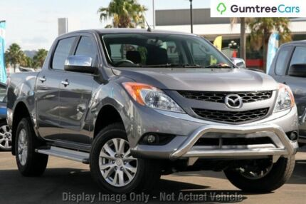 2013 Mazda BT-50 UP0YF1 XTR Grey 6 Speed Sports Automatic Utility Cannington Canning Area Preview