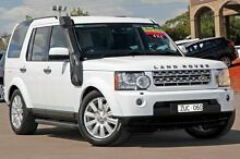 2013 Land Rover Discovery 4 Series 4 L319 MY13 TDV6 White 8 Speed Sports Automatic Wagon McGraths Hill Hawkesbury Area Preview