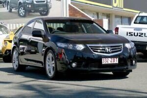 2011 Honda Accord Euro CU MY12 Luxury Black 5 Speed Automatic Sedan Cleveland Redland Area Preview