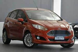 2014 Ford Fiesta WZ Sport Orange 5 Speed Manual Hatchback Artarmon Willoughby Area Preview