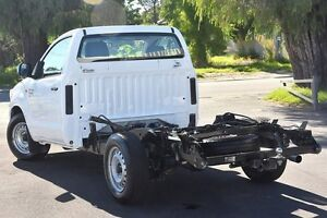 2013 Toyota Hilux KUN16R MY12 SR Glacier White 5 Speed Manual Cab Chassis Glendalough Stirling Area Preview