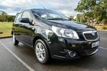2011 Holden Barina TK MY11 Black 4 Speed Automatic Hatchback Wetherill Park Fairfield Area Preview