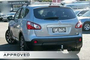 2012 Nissan Dualis J10 Series II MY2010 Ti Hatch X-tronic Silver 6 Speed Constant Variable Hatchback Brookvale Manly Area Preview