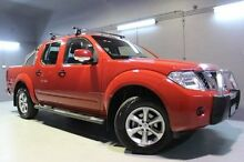2012 Nissan Navara D40 S6 MY12 ST Red 6 Speed Manual Utility Launceston Launceston Area Preview