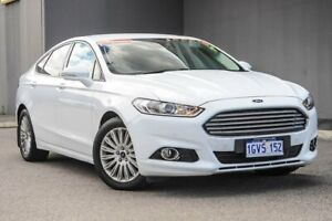 2015 Ford Mondeo MD Trend PwrShift White 6 Speed Sports Automatic Dual Clutch Hatchback