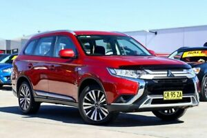 2018 Mitsubishi Outlander ZL MY18.5 ES 2WD Red 6 Speed Constant Variable Wagon Liverpool Liverpool Area Preview