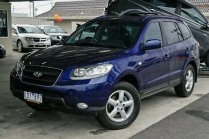 2006 Hyundai Santa Fe CM MY07 SLX Blue 4 Speed Auto Seq Sportshift Wagon Doveton Casey Area Preview