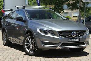2015 Volvo V60 F Series MY16 D4 Luxury Cross Country Grey 6 Speed Sports Automatic Wagon Killara Ku-ring-gai Area Preview