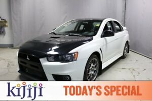 2014 Mitsubishi Lancer Evolution AWC EVOLUTION GSR Heated Seats,