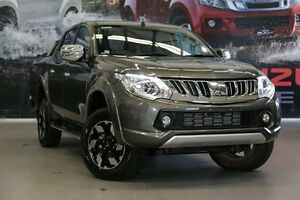 2016 Mitsubishi Triton MQ MY16 Exceed Double Cab 5 Speed Sports Automatic Utility Rockingham Rockingham Area Preview