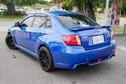 2013 Subaru WRX MY13 (AWD) Blue 5 Speed Manual Sedan Glendalough Stirling Area Preview