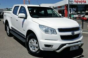 2013 Holden Colorado RG MY14 LT Crew Cab White 6 Speed Sports Automatic Utility Keysborough Greater Dandenong Preview