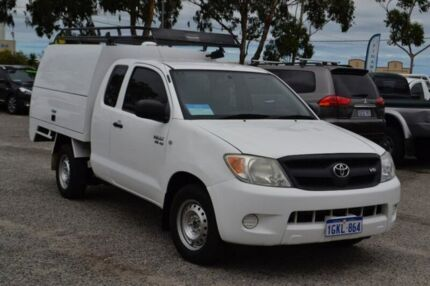 2008 Toyota Hilux GGN15R MY08 SR Xtra Cab White 5 Speed Automatic Utility Pearsall Wanneroo Area Preview