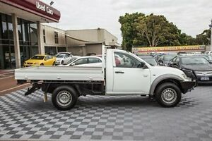 2012 Mitsubishi Triton MN MY12 GLX White 5 Speed Manual Cab Chassis Alfred Cove Melville Area Preview