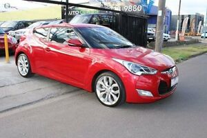 2012 Hyundai Veloster FS + Coupe Red 6 Speed Manual Hatchback West Footscray Maribyrnong Area Preview