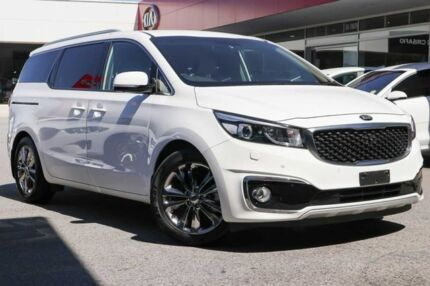 2017 Kia Carnival YP MY18 Platinum White 6 Speed Sports Automatic Wagon Osborne Park Stirling Area Preview