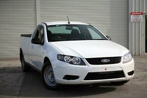2010 Ford Falcon FG Ute Super Cab White 4 Speed Sports Automatic Utility Seaford Frankston Area Preview