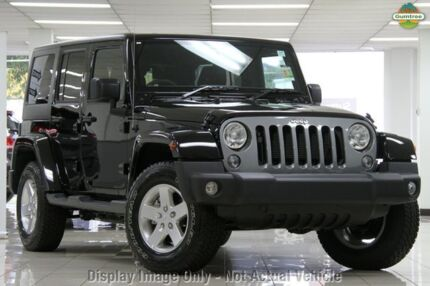 2014 Jeep Wrangler JK MY2015 Freedom (4x4) Billet Silver 5 Speed Automatic Softtop Chatswood West Willoughby Area Preview