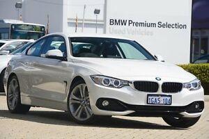2016 BMW 428i F32 Sport Line White 8 Speed Sports Automatic Coupe Victoria Park Victoria Park Area Preview